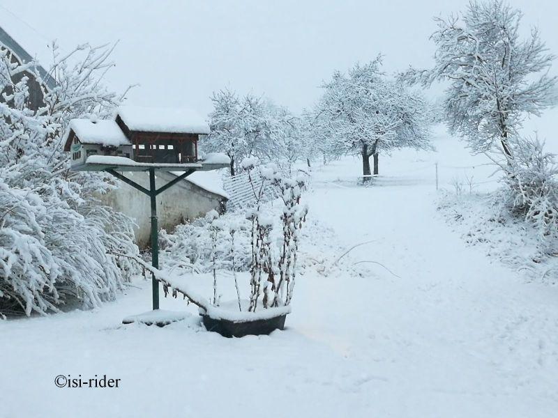 Wintereinbruch am letzten Tag im November