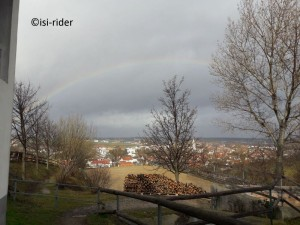 Regenbogen über Marz1